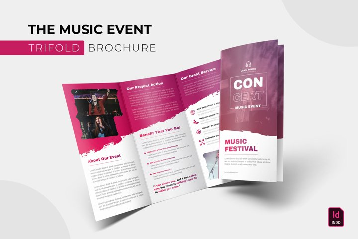 Music Event | Trifold Brochure