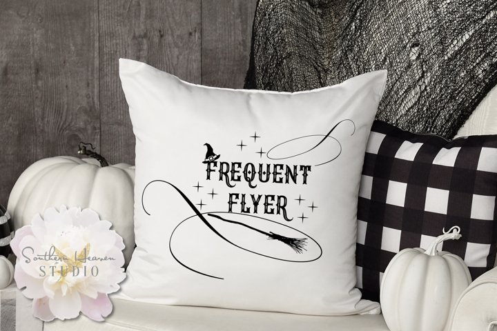 FREQUENT FLYER - SVG, PNG, DXF and EPS