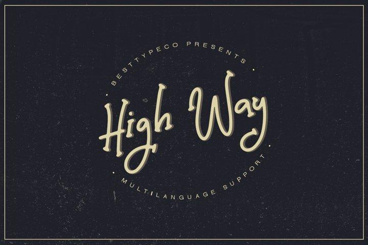High Way example