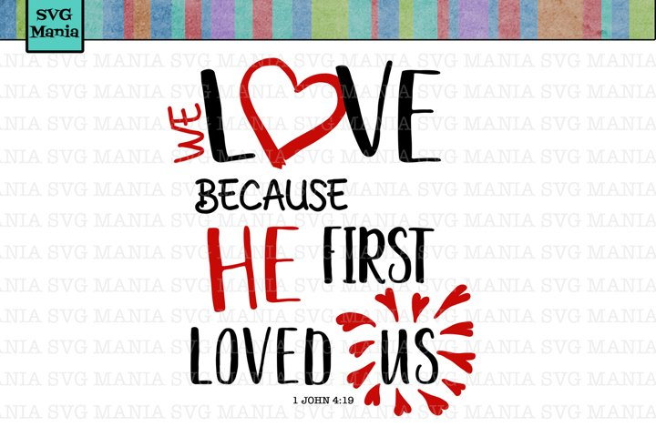 Cute Valentine SVG File, Bible Verse Valentine SVG, SVG File