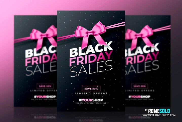 Black Friday Flyer Template v4