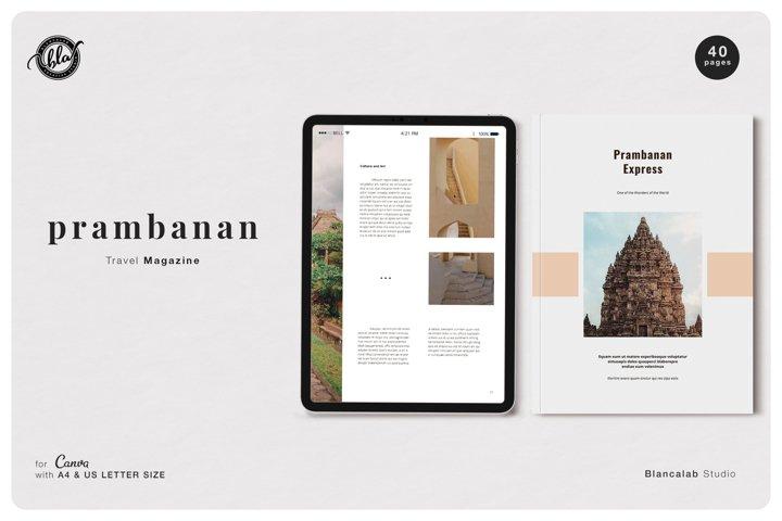 Canva Travel Magazine | Prambanan