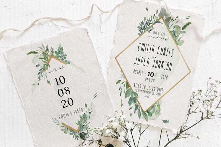 Gold & Greenery Wedding Suite