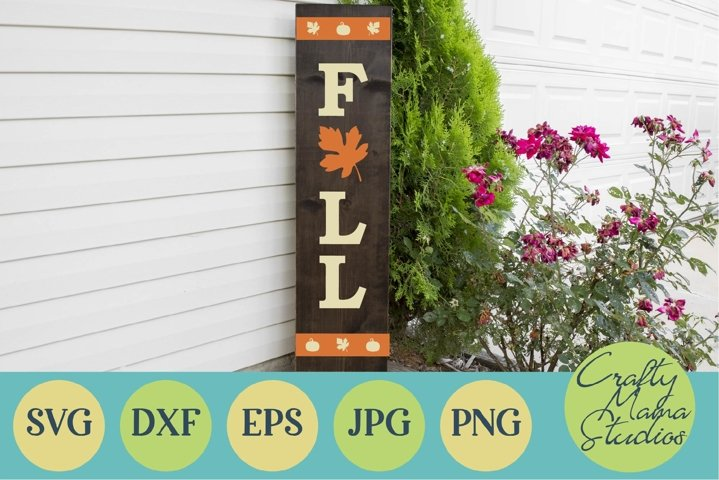 Fall Porch Sign Svg, Autumn Cut File, Season Digital File