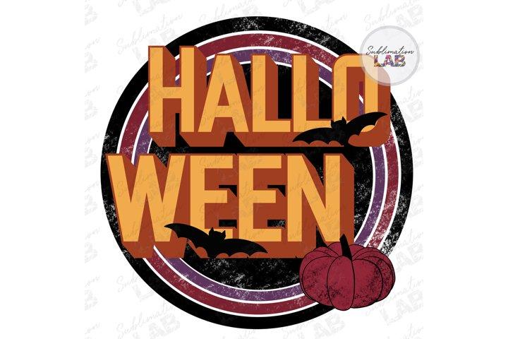 Halloween Retro Vintage Sublimate Design Fall Autumn Vintage