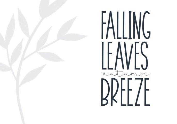November - A Tall Handwritten Font - Free Font of The Week Design3