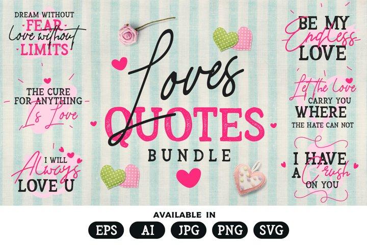 Romantic Quotes Bundle
