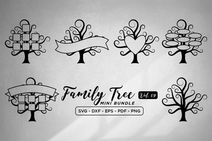 Family Tree SVG Bundle Vol 9, Family Tree SVG Cut Files