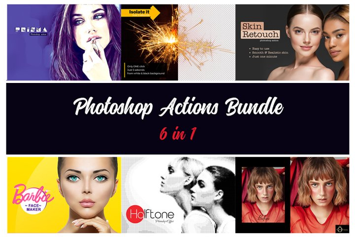 Photoshop Action Bundle V3