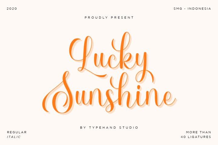 Lucky Sunshine