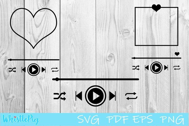 Custom song Svg, Song Art svg, Music Player SVG Bundle SVG