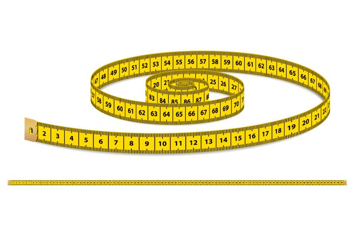 Vector measuring tape.
