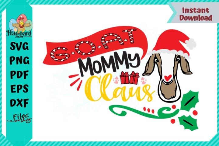G.O.A.T Mommy Claus