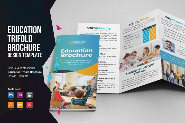 Education School Trifold Brochure v5