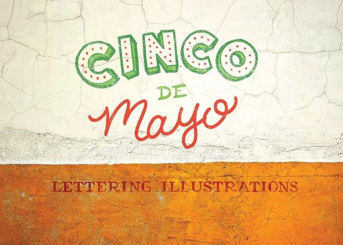 Cinco De Mayo Lettering Pack