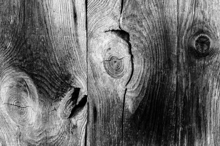 background from old textured wood, bnw