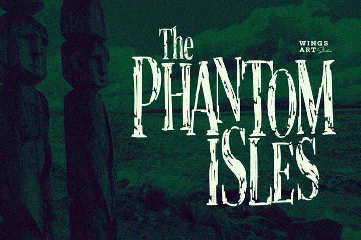 The Phantom Isles Retro Tiki Font