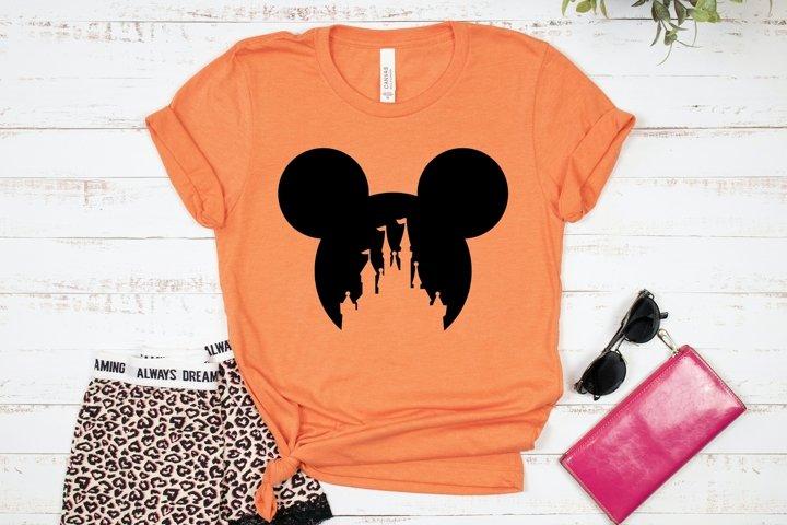 HOT TREND! Mouse Head T-shirt Design