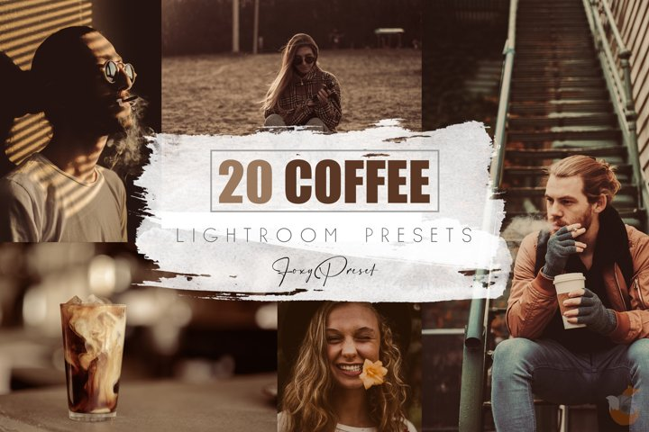 20 Coffee Mobile & Desktop Lightroom Presets