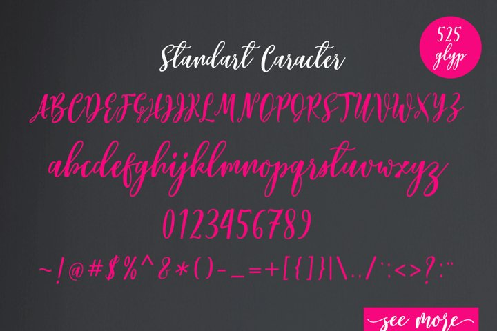 Lovelyou - Free Font of The Week Design0