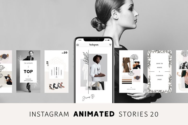 ANIMATED Instagram Stories Pure