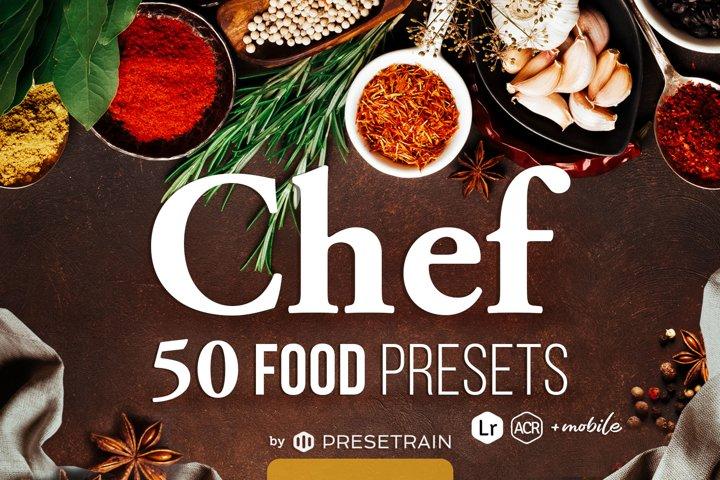 Chef - 50 Food Presets for Desktop & Mobile