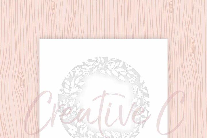 Wreath Envelope