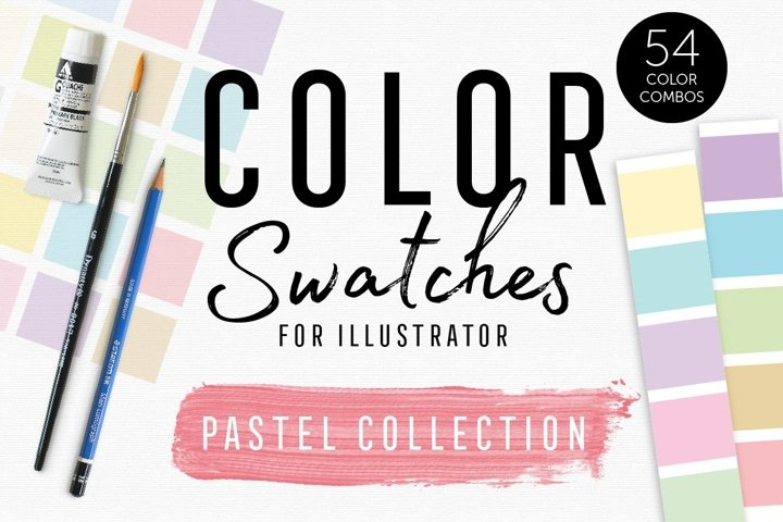 Color Swatches - Pastel Collection
