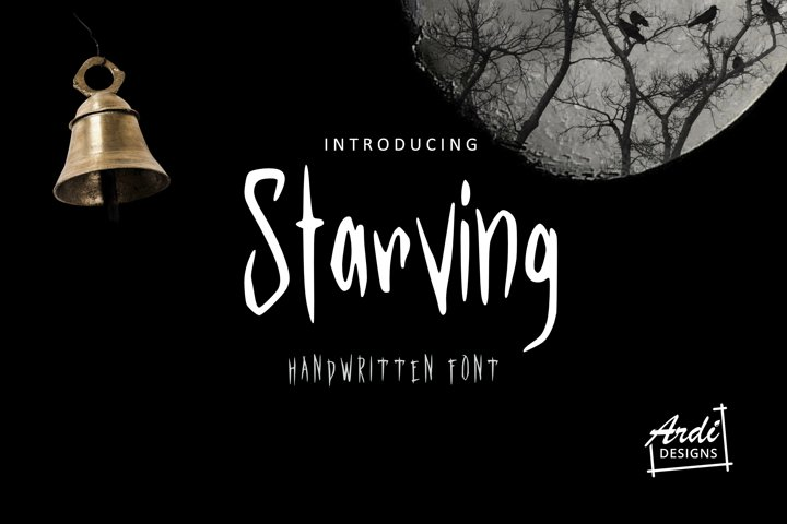 Starving Font