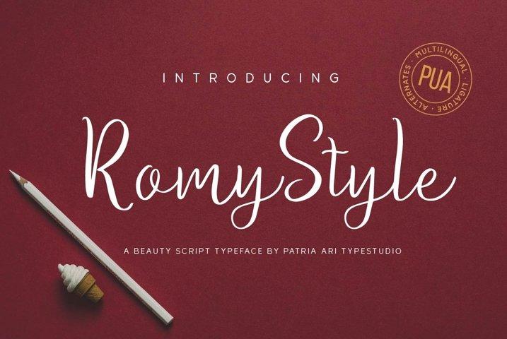 Romy Style