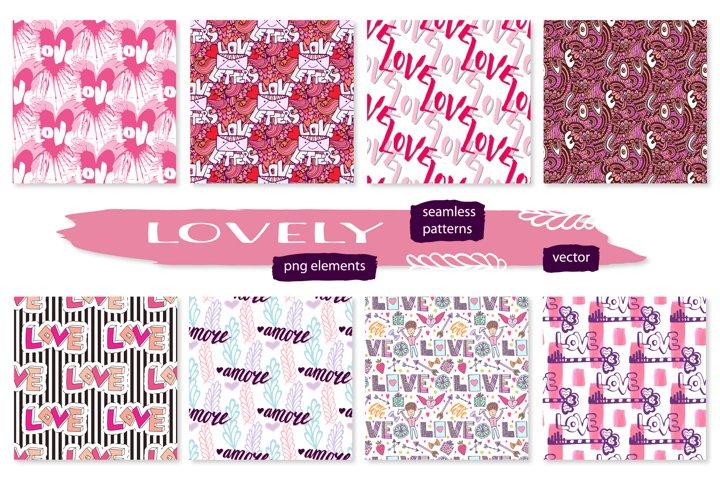 Love Seamless Patterns