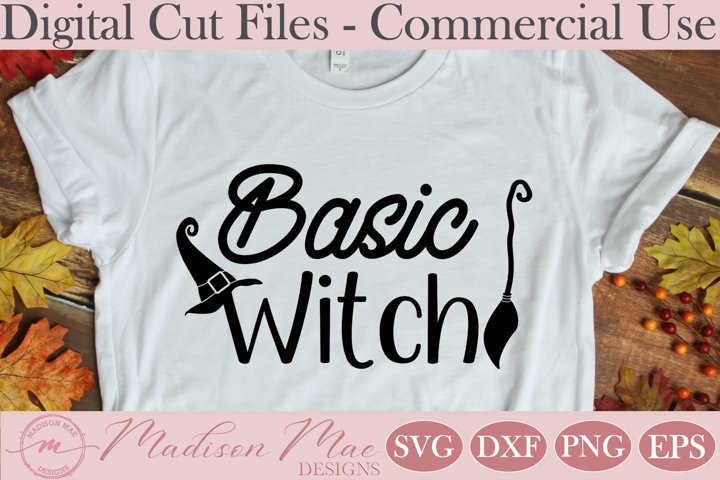 Basic Witch, Halloween Witch SVG