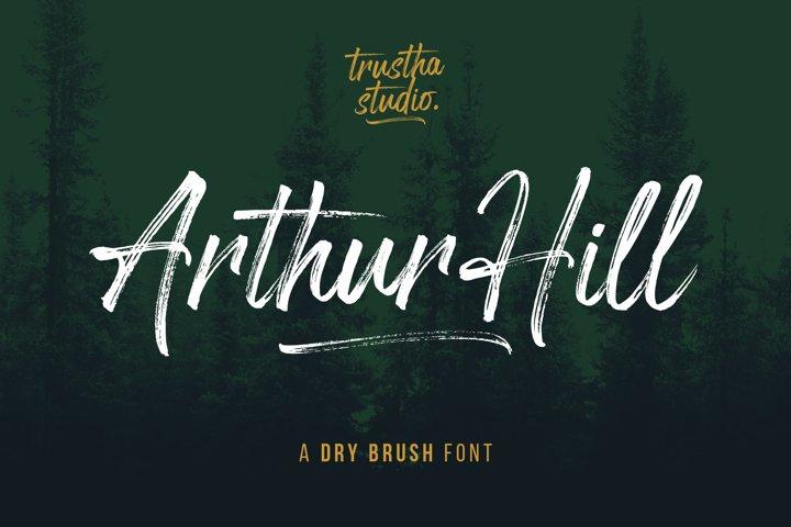 Arthur Hill Font