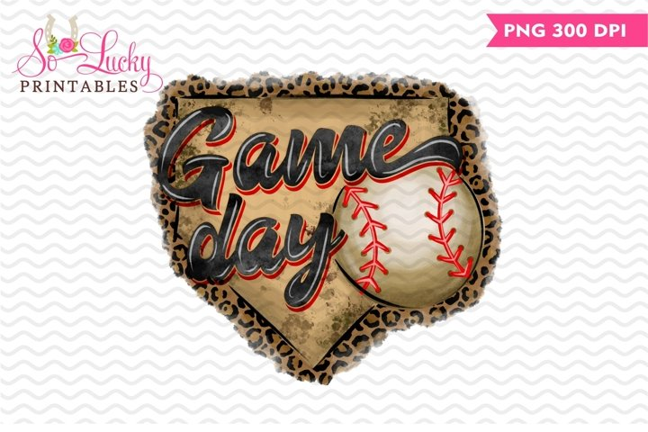 Game Day printable sublimation design