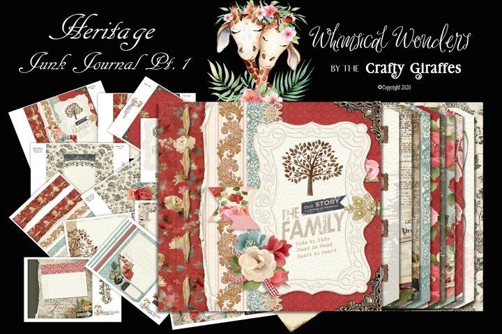 Heritage Junk Journal Bundle