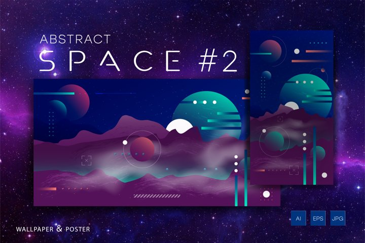 Abstract space #2