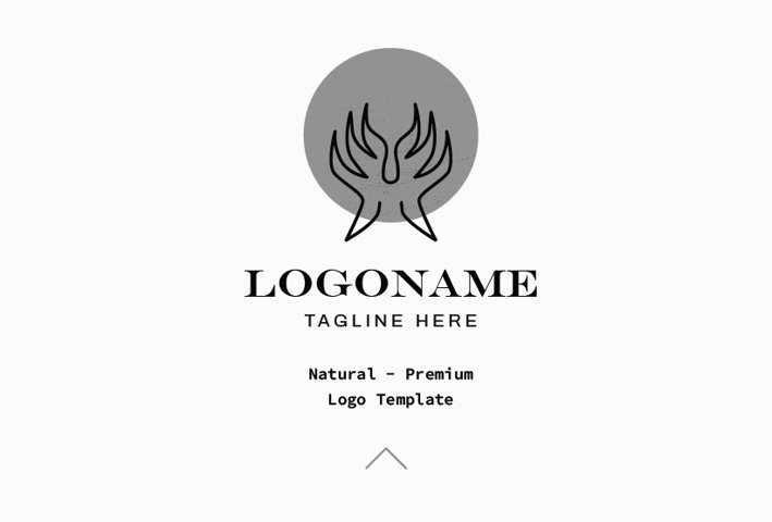 Natural - Premium Logo Template