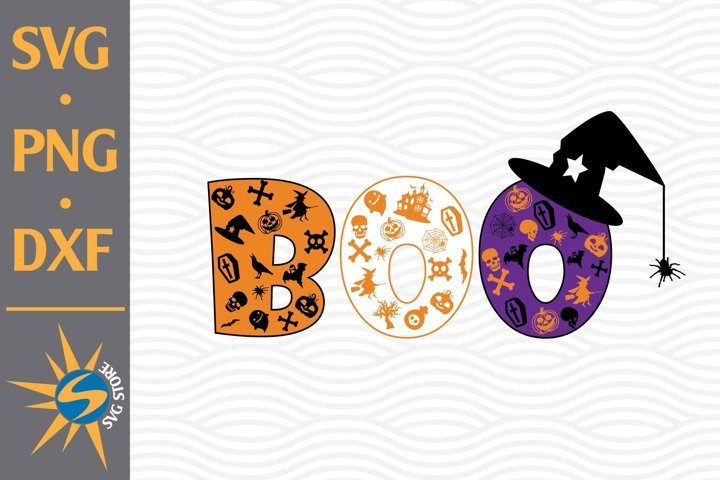 Boo SVG, PNG, DXF Digital Files Include