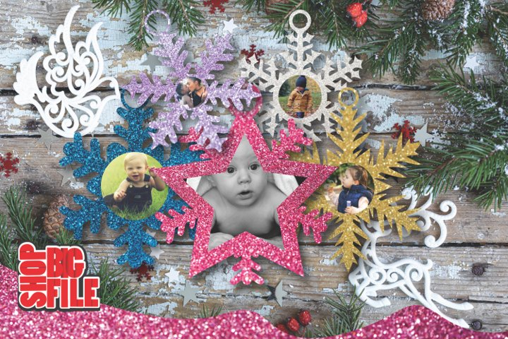 Christmas Snowflakes pack