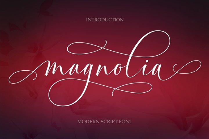 Magnolia Modern Script