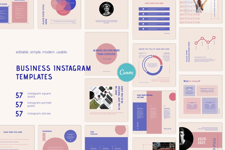 Instagram Templates Canva