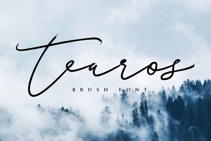 Tearos Typeface