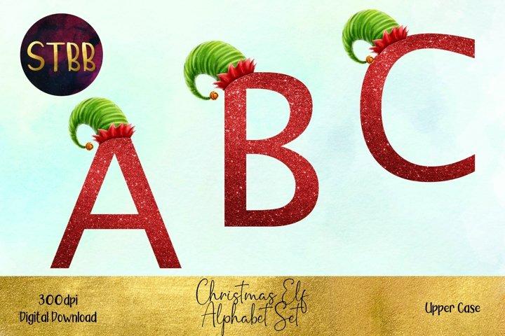 Christmas Elf Hat Alphabet Set