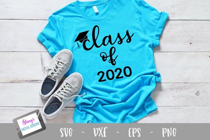 Graduation SVG - Class of 2020 SVG file