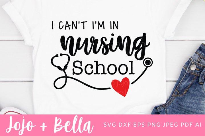 Nurse Svg | Nursing School Svg