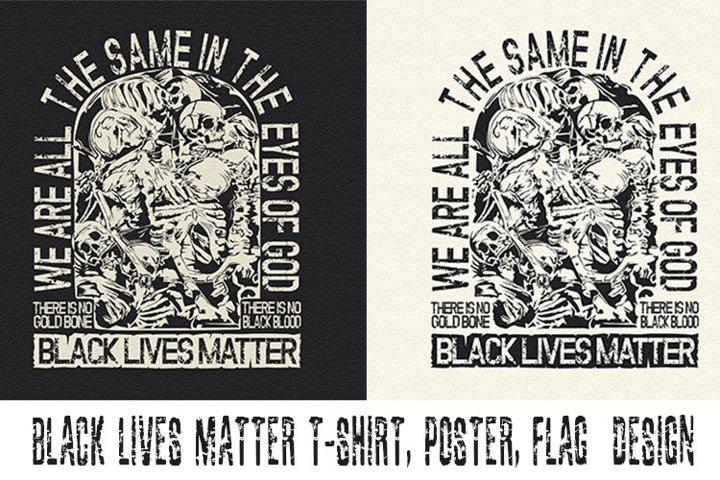 BLACK LIVES MATTER PREMIUM T-SHIRT DESIGN