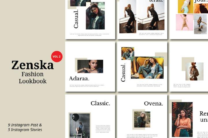 Zenska Fashion Instagram Template Vol 2