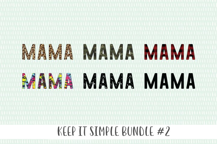 Keep It Simple Bundle #2 - Sublimation Files and SVG