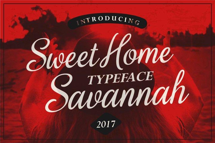 Sweet Home Savannah Font Duo