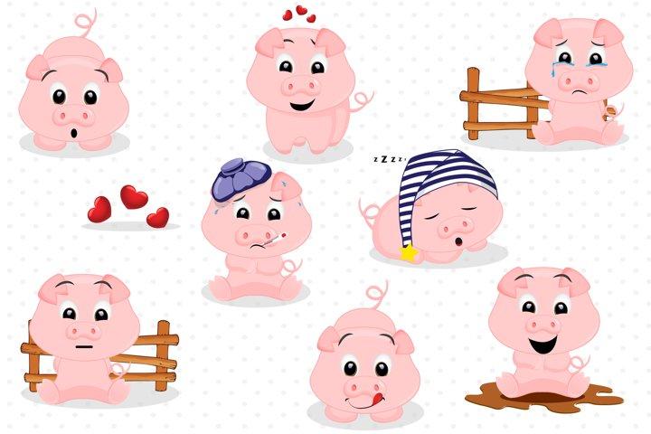 Piggy graphics, Piggy clipart